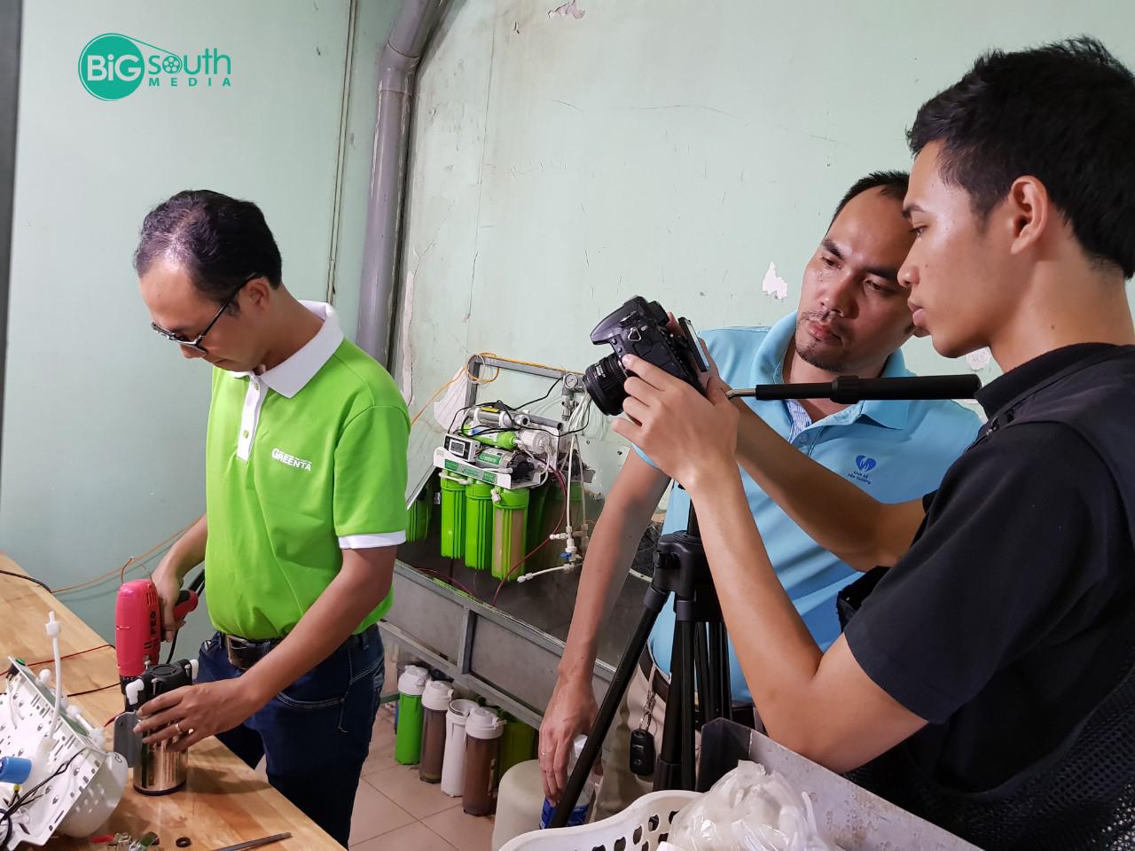 Quay phim giới thiệu máy lọc nước GreenTa 4