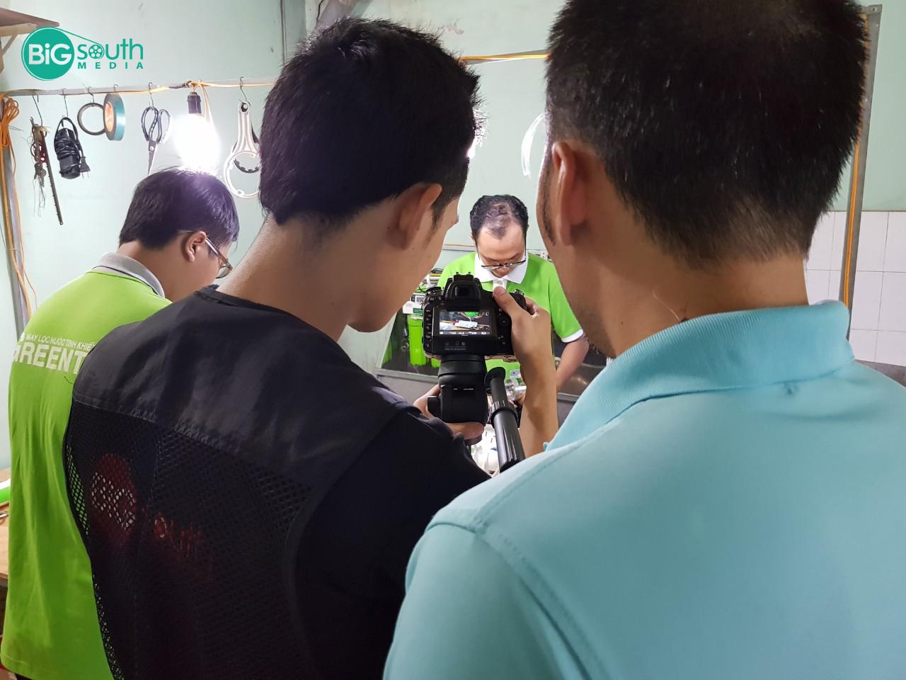 Quay phim giới thiệu máy lọc nước GreenTa 5