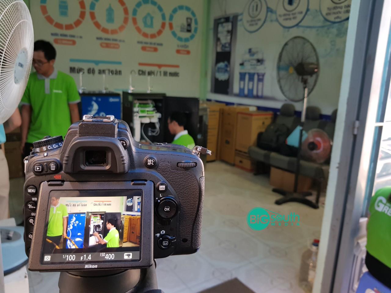 Quay phim giới thiệu máy lọc nước GreenTa 8