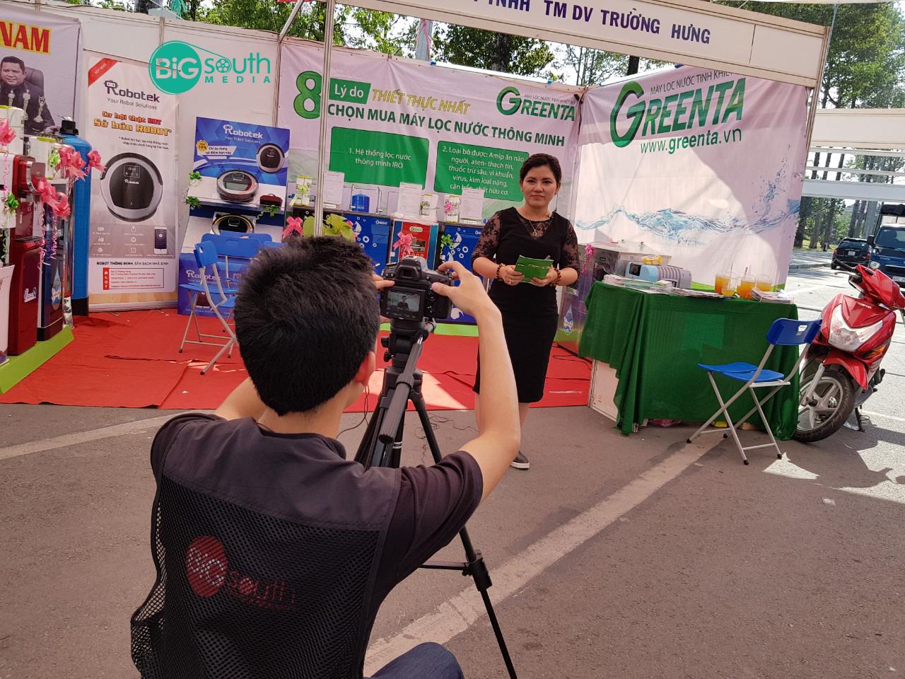 Quay phim giới thiệu máy lọc nước GreenTa 9