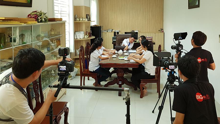 Team Bigsouth Media đang tổ chức quay phim
