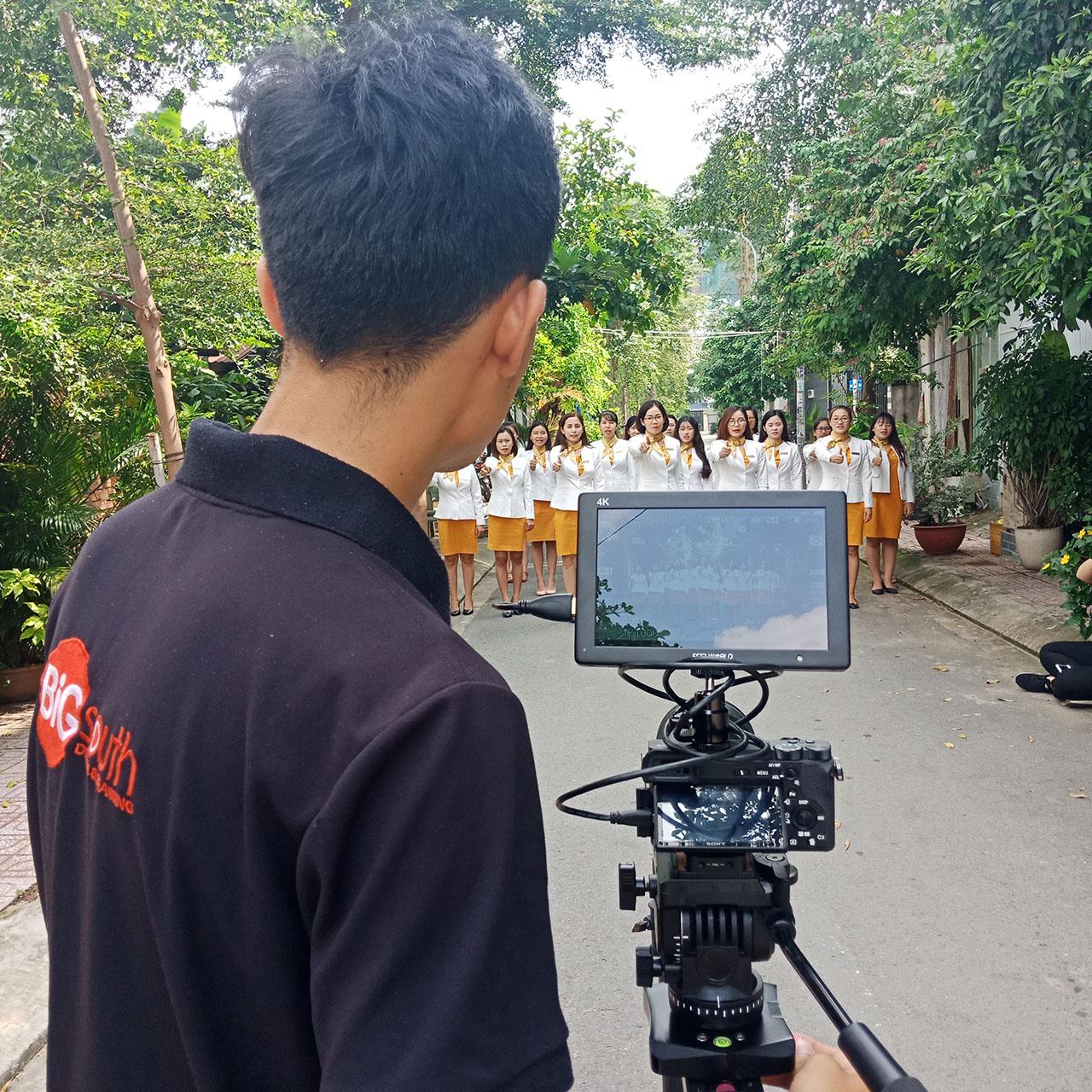 Team Bigsouth Media tác nghiệp