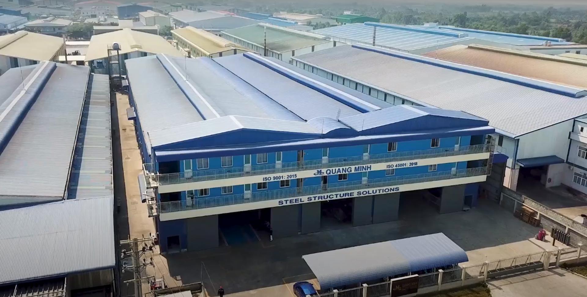 Nhà máy QUang Minh - Long An